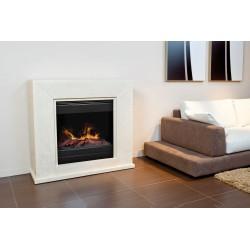 Cheminée électrique Nero avec foyer mystic fires