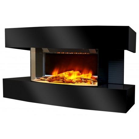 Cheminée decorative design Lounge Médium Noire