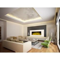 Cheminée decorative design White Loft XXL