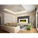 Cheminée décorative design White Loft XXL-Précommande livraison mi décembre