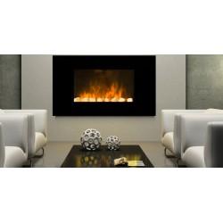 Cheminée decorative design Volcano avec écran LCD